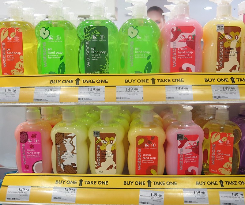 hand soap gel