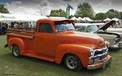hot rod(0.0), automobile(1.0), automotive exterior(1.0), pickup truck(1.0), vehicle(1.0), truck(1.0), custom car(1.0), chevrolet advance design(1.0), compact car(1.0), antique car(1.0), vintage car(1.0), land vehicle(1.0), motor vehicle(1.0),