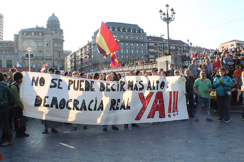 Protesta por la República