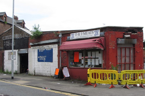 Openshaw Market, Ogden Lane entrance