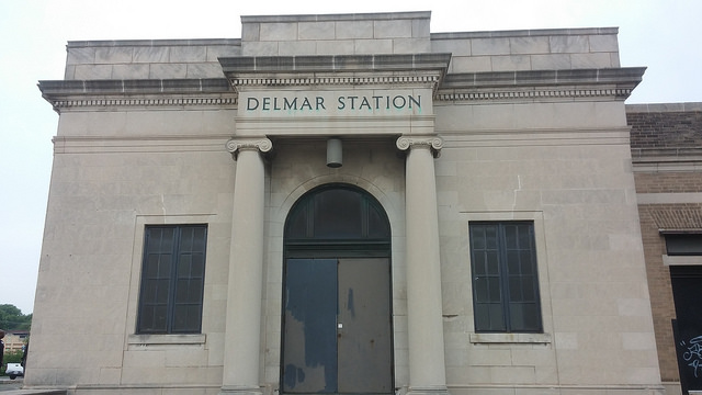 Wabash Station, Delmar MetroLink Station - St. Louis, MO