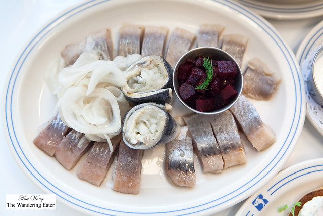 Herring sampler