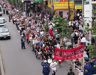 2014.7.5|ファシズム許すな!安倍政権打倒デモ@新宿