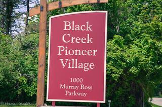 Image of Black Creek Pioneer Village. blackcreekpioneervillage