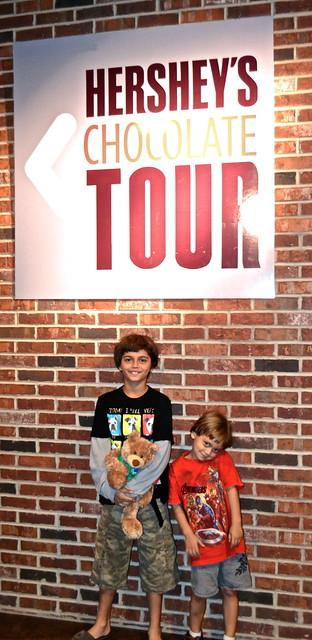 Chocolate Tour - Hershey World Hershey PA USA
