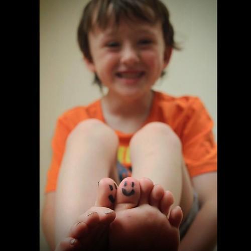 Project 52Week 1 - Happy'Happy Feet'