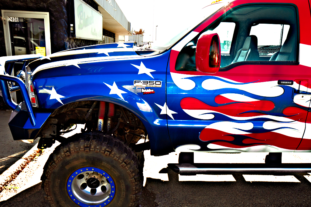 Patriotic-truck--Williston