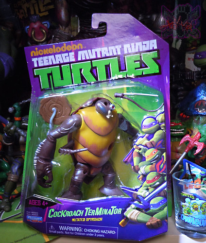 Nickelodeon  TEENAGE MUTANT NINJA TURTLES :: COCKROACH TERMINATOR V.2 i (( 2014 ))
