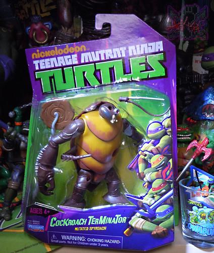 Nickelodeon  TEENAGE MUTANT NINJA TURTLES :: COCKROACH TERMINATOR V.2 i (( 2014 ))