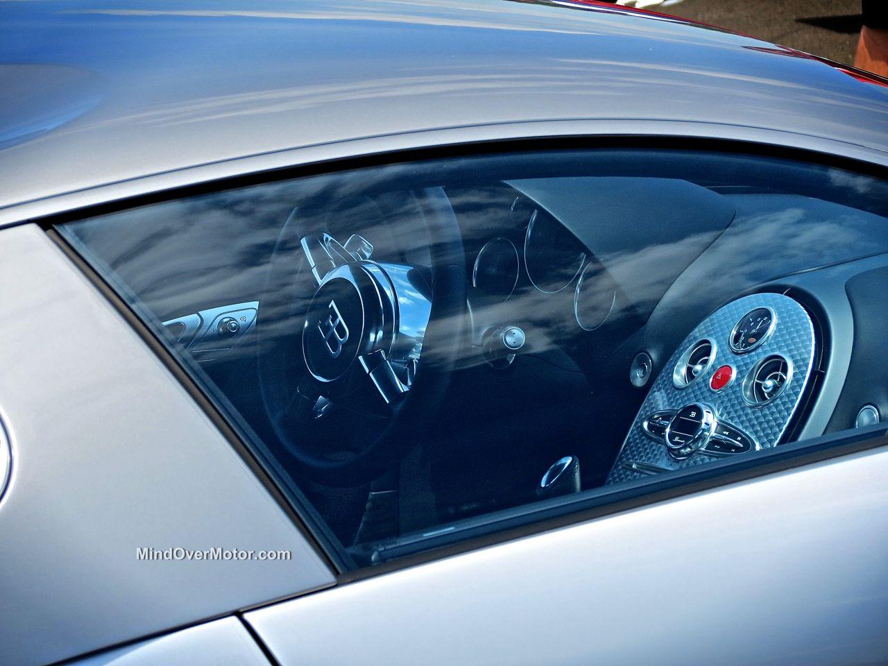 Bugatti Veyron Interior at CF Charities