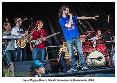 Squal Reggae Band - Fête de la musique de Rambouillet 2014