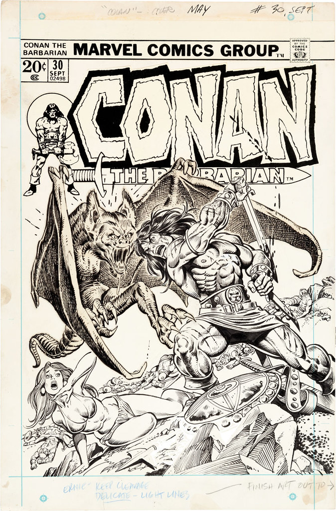 Conan the Barbarian 30 1973 Gil Kane and Ernie Chan
