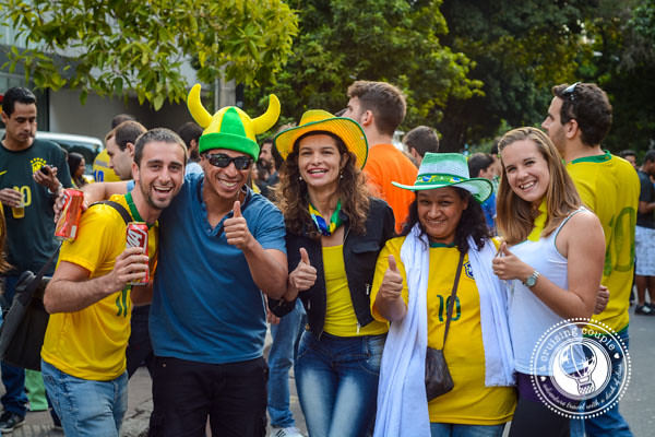 Costumes at Brazil World Cup 2014