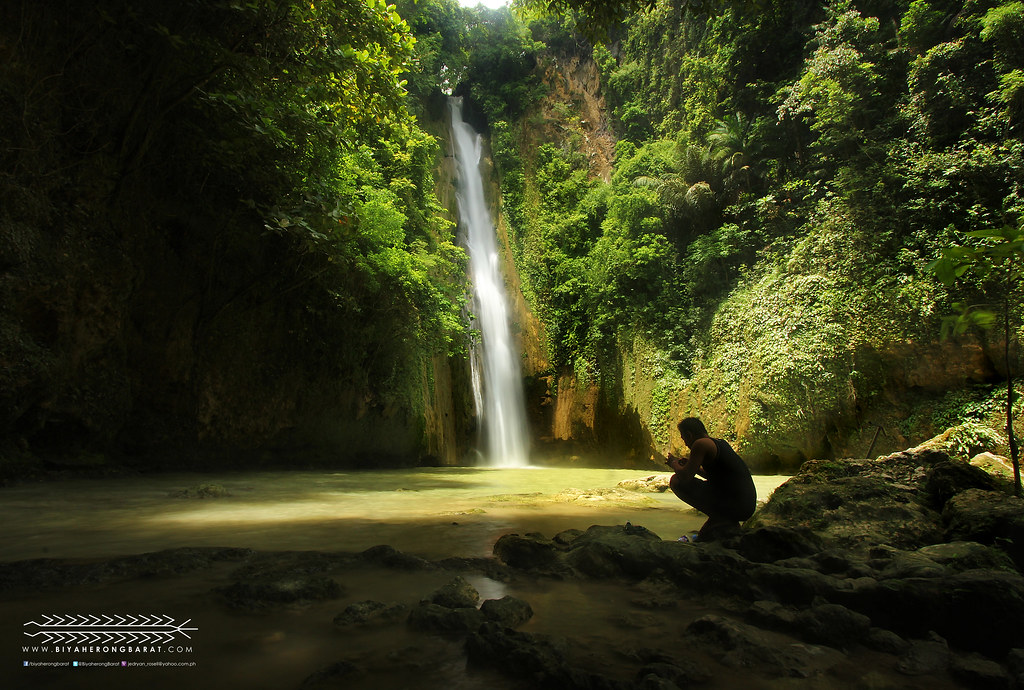 Barili south Cebu Mantayupan Falls