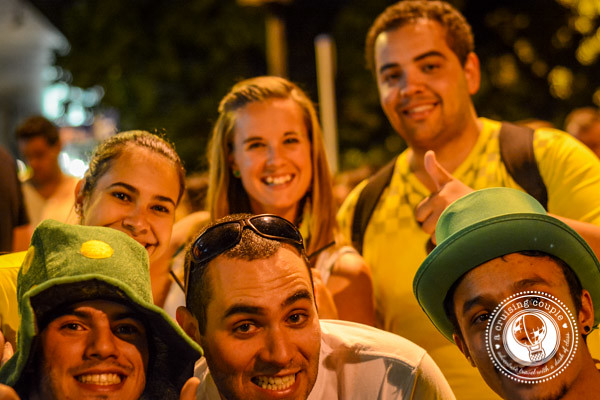 Fans at the Brazil World Cup 2014