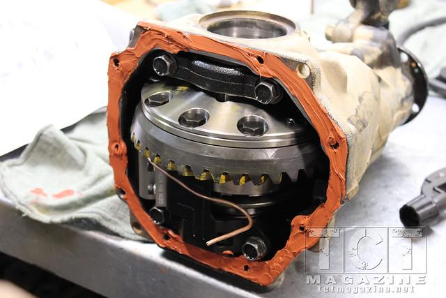 100 Series Land Cruiser Locker Gear Upgrade