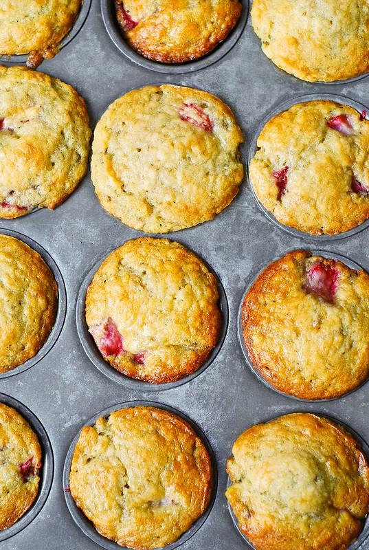 muffin pan, 12-cup regular muffin pan, banana bread muffins in a muffin pan