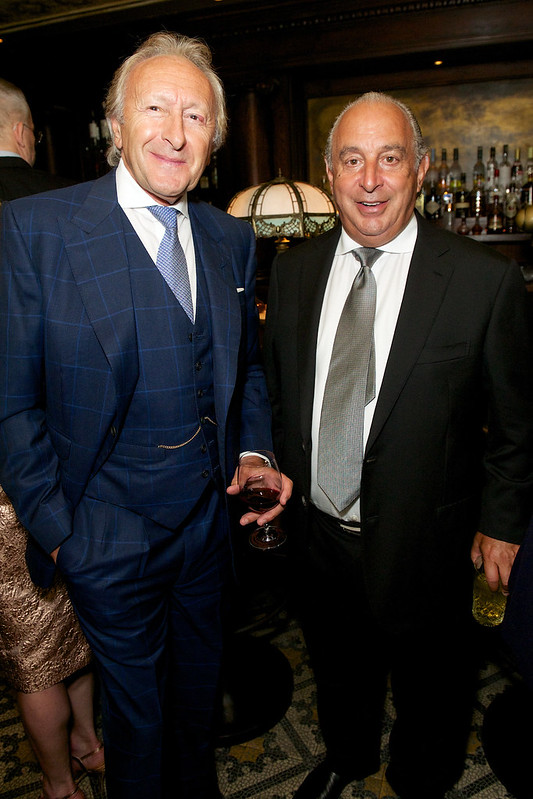 Harold Tillman and Philip Green