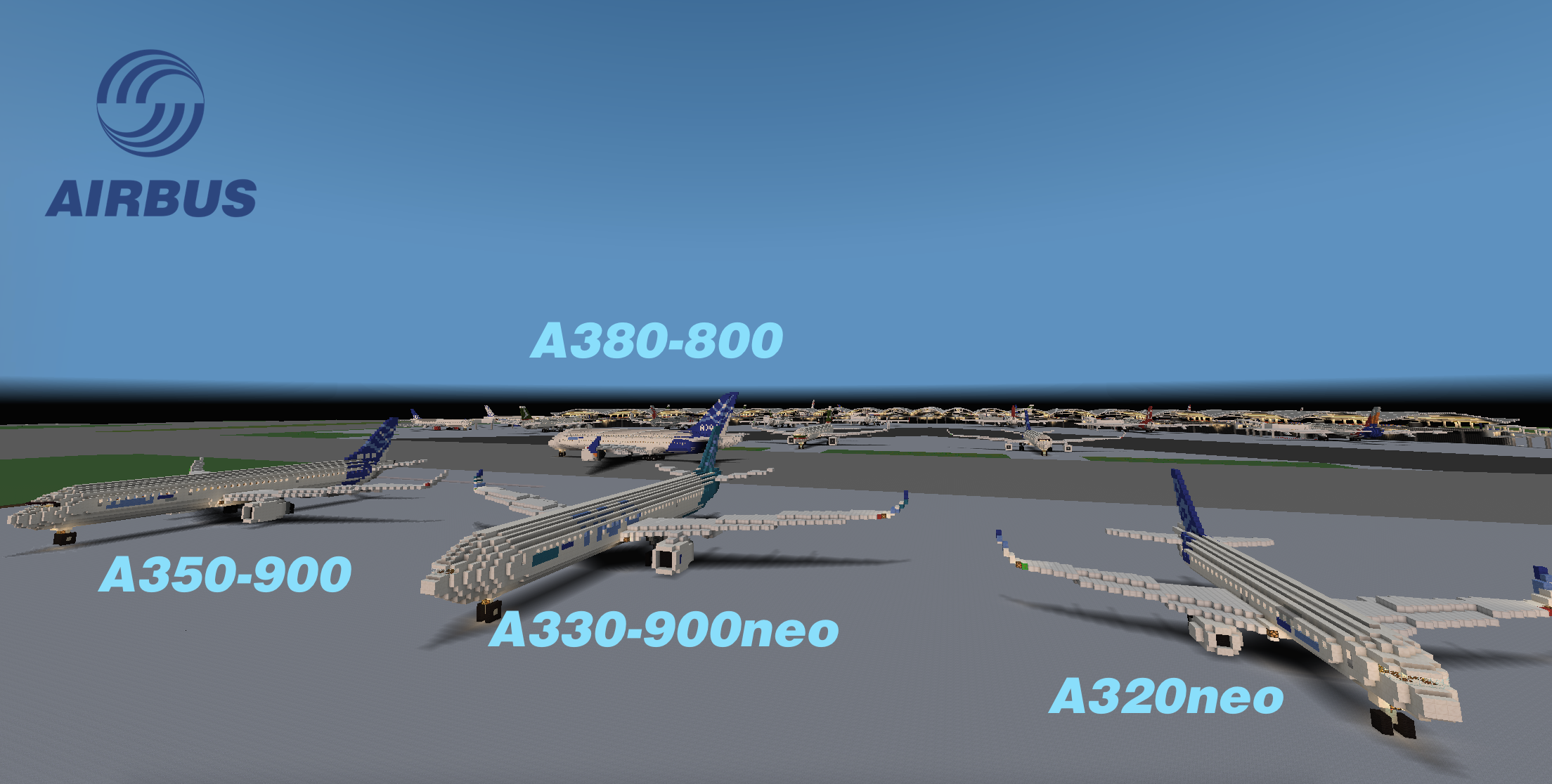 Airbus A340 300 World Collection Minecraft Project