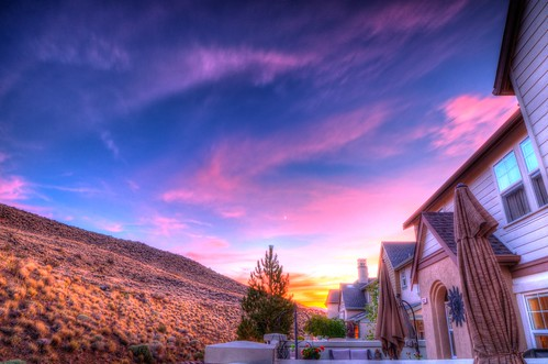 sunset sky mountains june clouds nikon nevada nv reno hdr 2014 northernnevada rokinon 14mmprime nikond7000 thevillagesomersett