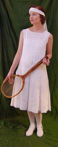 1920s Tennis Dress 5