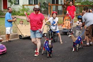 parade goats