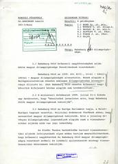 118. A Külügyminisztérium Konzuli Főosztályának feljegyzése Habsburg Ottó magyar állampolgárságáról