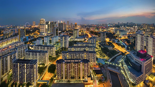 city light sunset sky urban cloud public marina buildings river bay flyer twilight singapore cityscape skyscrapers pentax ninja pano lavender illumination housing sands hdb immigration hdr ica k3 10mm ptgui nodal