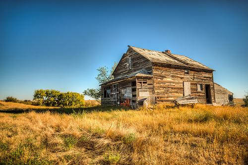 草原上的小木屋(圖片來源:waynerd)