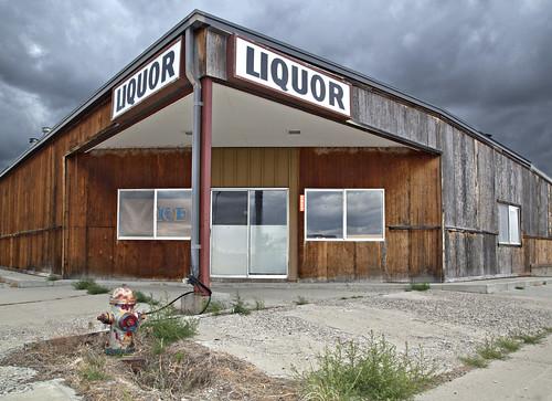 fire hydrant and liquor
