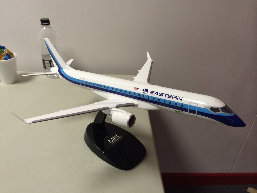 The Eastern Air Lines revival just bought up to 40 MRJs. Yes, that Eastern Air Lines. #FIA14