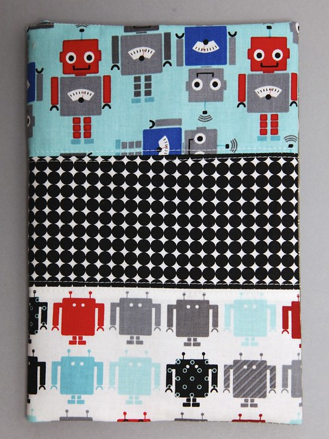 Robotic journal cover