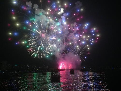 Fireworks on English Bay (Celebration of Light Festival)