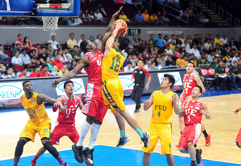 UAAP Season 77: UE Red Warriors vs. FEU Tamaraws, July 30
