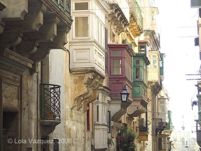 Balcones. © Lola Vázquez, 2008
