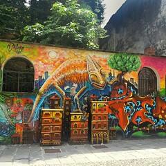 #graffiti #milan #milano #murales #scrittesuimuri #writers #streetart #colonnedisanlorenzo #navigli #portaticinese #piazza24maggio