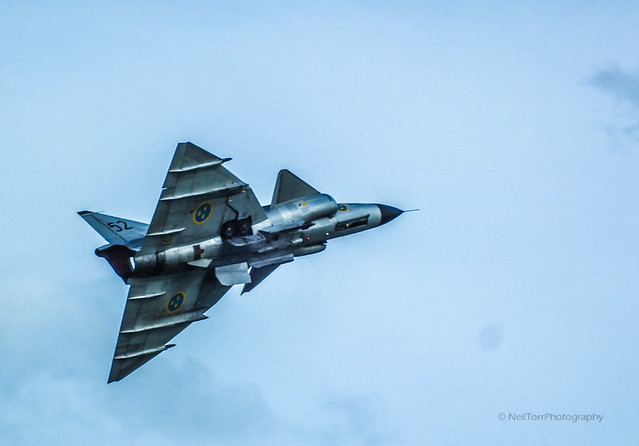 Swedish Historic Flight Saab Viggen