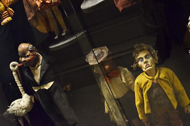 Old puppets, Marionette Theatre, Salzburg, Austria
