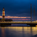 Malmo lighthouse by Timothy J Parry