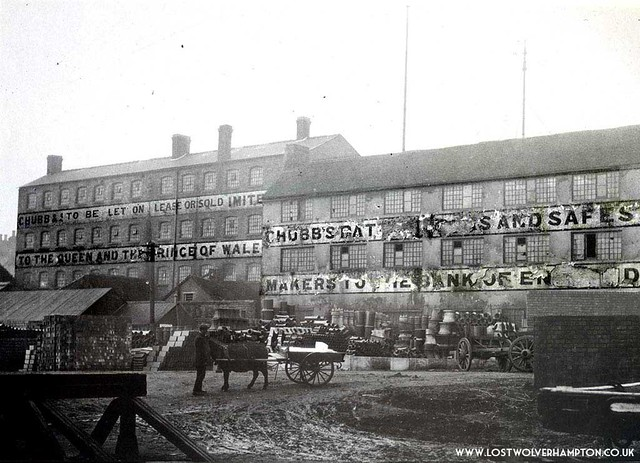 Old Workhouse seen from Railway sidings off Railway Drive, in 1913.