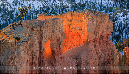 Fire in the Hole - Bryce Canyon - Utah
