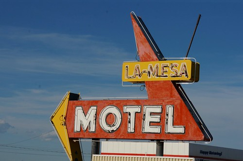 La Mesa Motel - Route 66, Santa Rosa, New Mexico