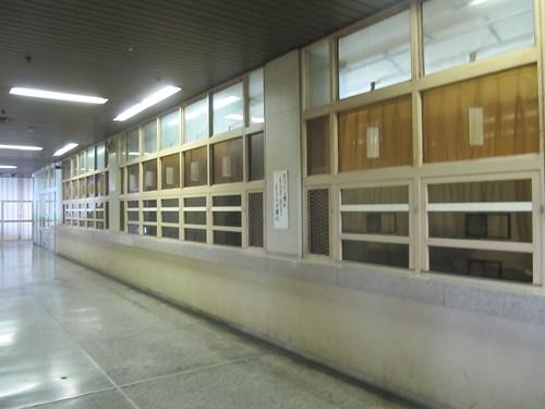 佐賀競馬場の馬券窓口