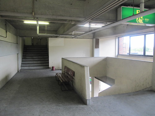 佐賀競馬場の2階