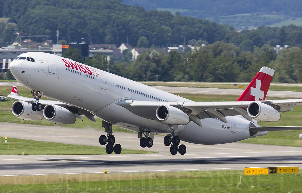 Swiss Airbus A340-313 HB-JMB