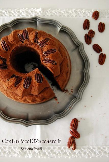 Pecan Chiffon Cake