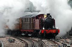 Steam on the Chesham Shuttle, August 2014