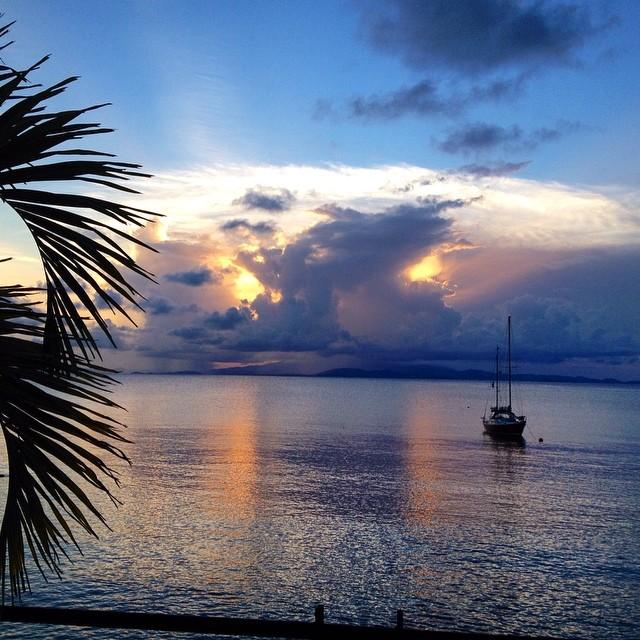 #sunset #vieques #caribbean #puertorico