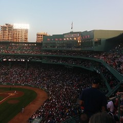 Sportsball at Fenway Park.