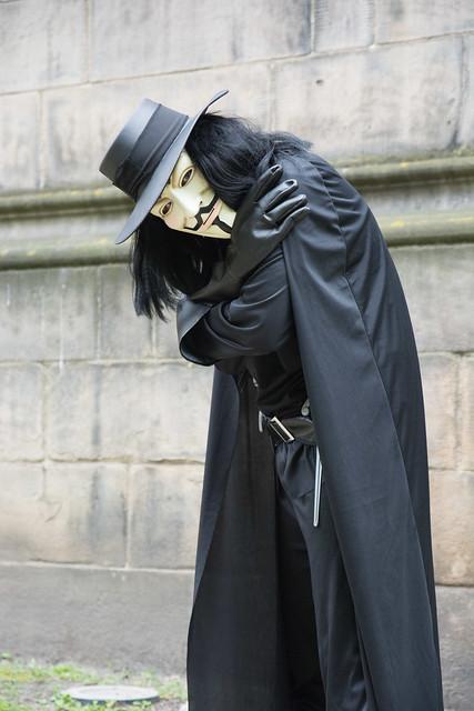 V For Vendetta Cosplay | Flickr - Photo Sharing!